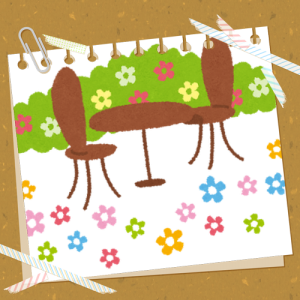 かわいいお庭