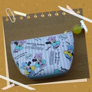 ディズニーストアポーチ・小物入れ(S) ミリー&メロディ CHEER UP! 03