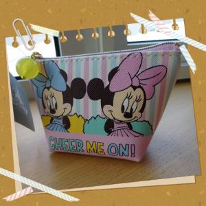 ディズニーストアポーチ・小物入れ(S) ミリー&メロディ CHEER UP! 01