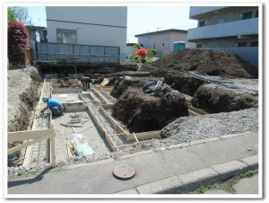オーダー新築住宅の基礎工事05-高坂ホーム