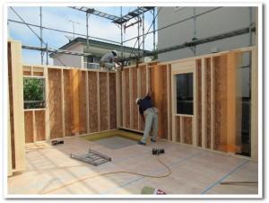 オーダー新築住宅の基礎工事01-高坂ホーム