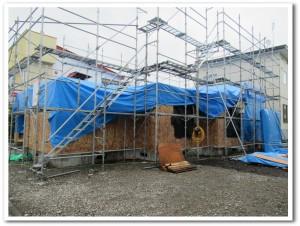 オーダー新築住宅の基礎工事06-高坂ホーム