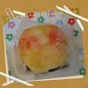 丸ごと桃タルト-菓子の家-大好評