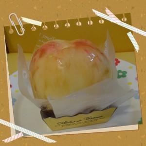 丸ごと桃タルト-菓子の家-イチオシ