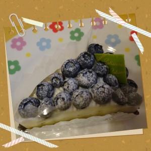 ブルーベリータルト-菓子の家-美味しい