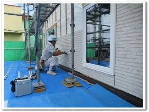 オーダー新築住宅の基礎工事02-高坂ホーム
