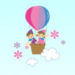 【気球】2021.02.20朝の景色ʕ·ᴥ·ʔ